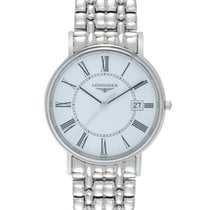 Longines La Grande Classique Presence Quartz Steel Men's Watch...