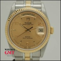 Tudor Prince Date Day Steel & Gold