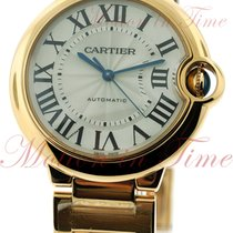 Cartier Ballon Bleu Medium Automatic, Silver Dial - Yellow...