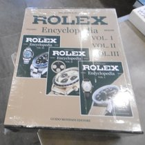 Rolex Encyclopedia Vol. I - Vol. III Buch book