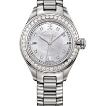 Ebel -50% OFF Onde Lady 30mm Ref.1216096, Diamantbes. 0,89ct