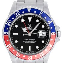 Rolex GMT - Master Men's Watch Red Blue Pepsi Bezel 16700