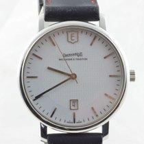 Eberhard & Co. Aliante Herren Uhr Handaufzug 41mm Stahl/st...