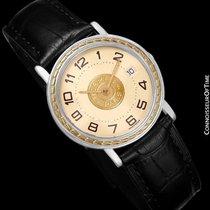 Hermès Sellier Mens Midsize Unisex Watch - Stainless Steel...