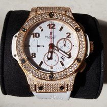 Hublot Big Bang 44 mm Hublot Big Bang White Rose Gold Diamonds