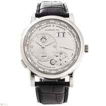 A. Lange & Söhne Lange 1 Time Zone Platinum Men`s Watch