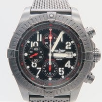 Breitling Super Avenger Black Steel