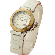 Cartier W3140001 Pasha Seatimer - Ladies Size - Steel with...