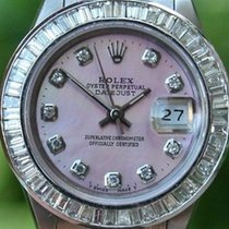 Rolex Steel Ladies 26mm Datejust Watch Warranty 1994 Serial...