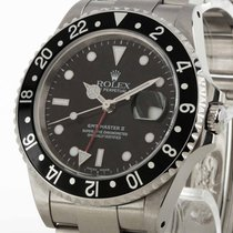 Rolex Oyster Perpetual GMT-Master II Edelstahl Ref. 16710