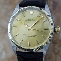 Rolex 1002 Swiss Made Automatic Men's 1969 Stainless Steel...