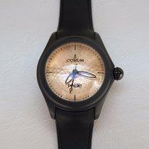 Corum BUBBLE PAISTE Steel PVD Watch
