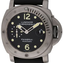 Panerai : Luminor Submersible :  PAM 25 :  Titanium automatic...