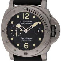 Panerai : Luminor Submersible :  PAM 25 :  Titanium automatic...