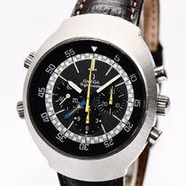 Omega Flightmaster Vintage Stahl Uhr 145.026