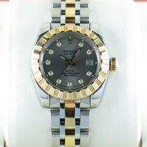Tudor Classic Date Ladies Diamond Hour Markers 22013