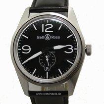 Bell & Ross BR 123 Original BRV123-BL-ST/SCA