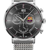Maurice Lacroix Eliros Chronograph Date, Black Dial, Milanaise...