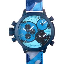 Welder Triple Time Zone Chronograph Men's Watch K29-8006