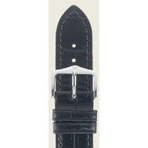 Hirsch Duke Lederarmband schwarz XL 01028250-2-18 18mm