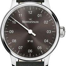 Meistersinger No 01 AM3307 Elegante Herrenuhr Zeitloses Design