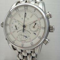 Maurice Lacroix Globe Chronograph -Stahl-Stahl, Box und...