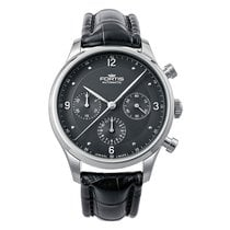Fortis TERRESTIS TYCOON CHRONOGRAPH P.M Automatic Stainless...