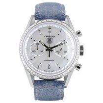 TAG Heuer Carrera Diamants Chronographe - Ref CV2116