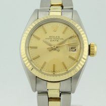 Rolex Oyster Perpetual Datejust Automatico Steel-18K Gold Lady...