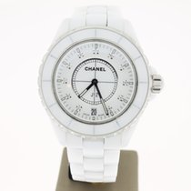 Chanel J12 Quartz Diamond Dial 38mm WhiteCeramic (PAPER2015)
