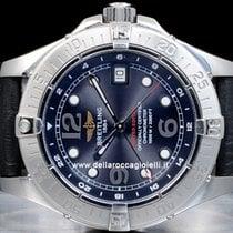 Breitling SuperOcean Steelfish GMT Watch A32360