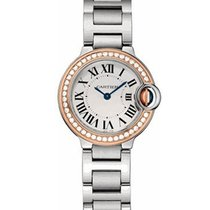 Cartier WE902079 Ballon Bleu Ladies 33mm Automatic in Steel -...