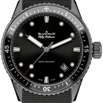 Blancpain Sport Automatique Fifty Fathoms Bathyscaphe 5000-013...