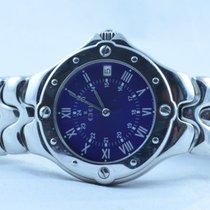 Ebel Sportwave Herren Uhr 37mm Stahl/stahl Uhr  E 6187631