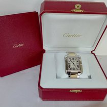 Cartier Tank Anglaise Gold  Steel XL W5310006
