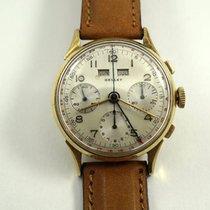Gallet Multichron calendar 14k chronograph c.1950's