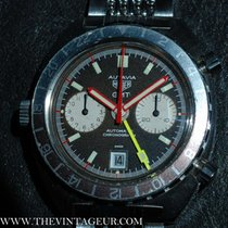 Heuer Autavia GMT Chronograph 1163 Brown
