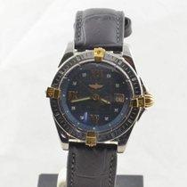 Breitling Callistino Damen Uhr Stahl/gold Schöne Uhr Vintage...
