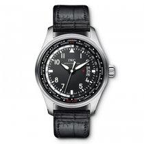 IWC Pilots Watch Worldtimer  Black Dial Automatic IW326201...