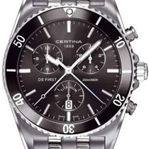 Certina DS First Ceramic Herren Chronograph Titanium C014.417....