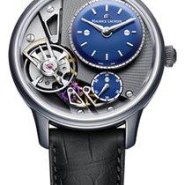 Maurice Lacroix Masterpiece Gravity Satin Steel Case, Blue Dial