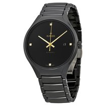 Rado Men's R27056712 True Black Dial Black Ceramic Watch