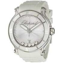 Chopard Happy Sport Round Quartz 42 MM Diamonds