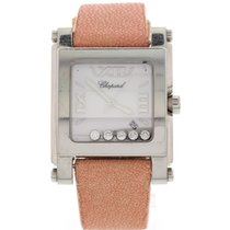 Chopard Ladies Chopard Happy Sport Stainless Steel Floating...