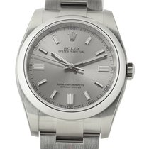 Rolex Oyster Perpetual 36mm Stainless Steel No-Date Steel Dial