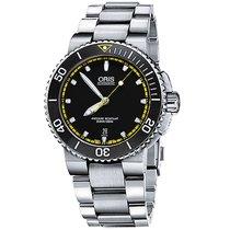 Oris Men's 733 7653 4127-07 8 26 01PEB Aquis Date Watch