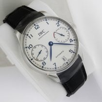 IWC Portugieser Automatic iw500705 7 Days Power Reserve Silver...