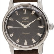 Longines Conquest Automatic Original Black Gilt Dial circa 1960
