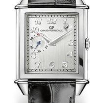 Girard Perregaux VINTAGE DATE SMALL SECONDS Steel Dial Silver...