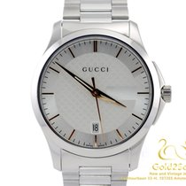 Gucci G-TIMELESS Stainless Steel Quartz Date Rose Gold Markers...